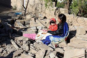 سرما مشکل اصلی زلزله زدگان کرمان