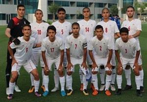 شکست دور از انتظار تیم ملی فوتبال نوجوانان ایران